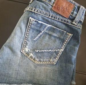 BKE shorts size 25